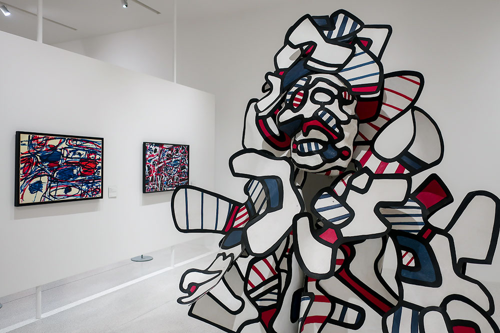 Don Coucoubazar, by Jean Dubuffet, in the new Ackerhof extension