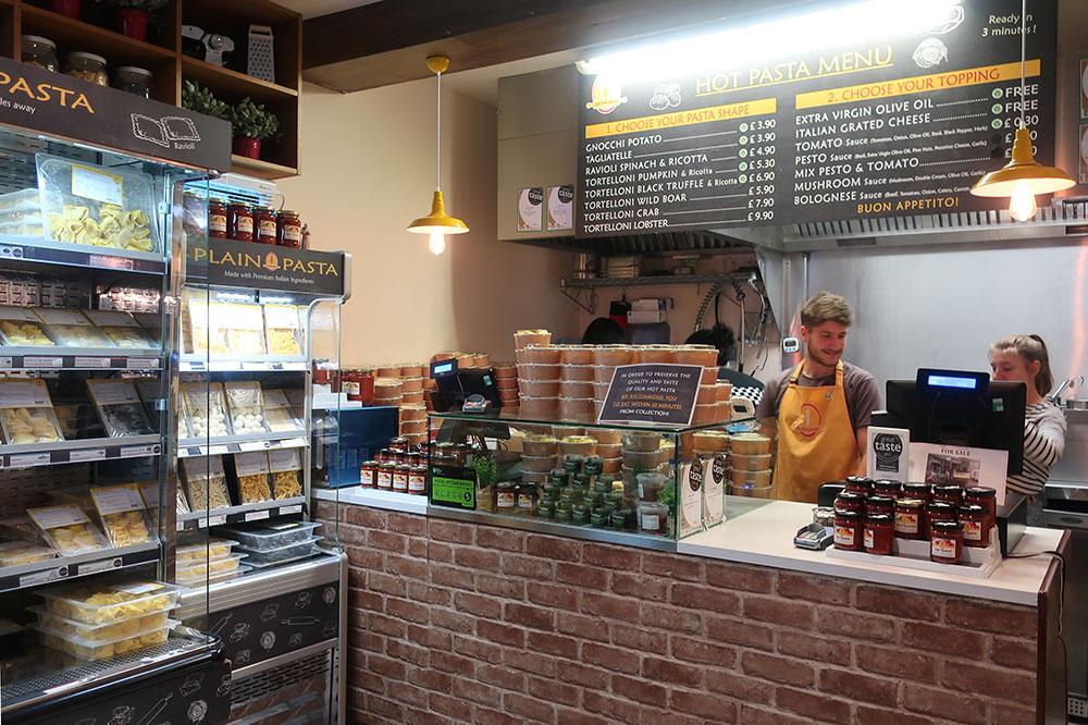 La Tua Pasta at the Borough Market