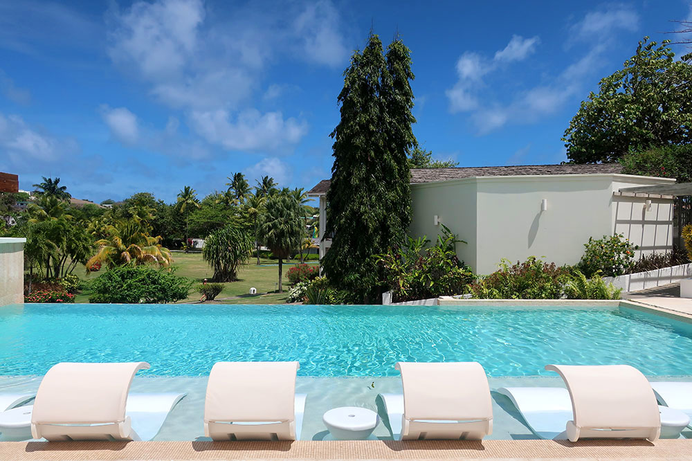 The pool at Calabash Luxury Boutique Hotel