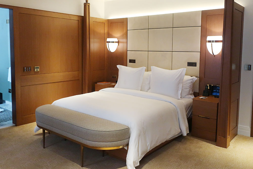Our Premier Room at the Four Seasons Hotel London at Ten Trinity Square