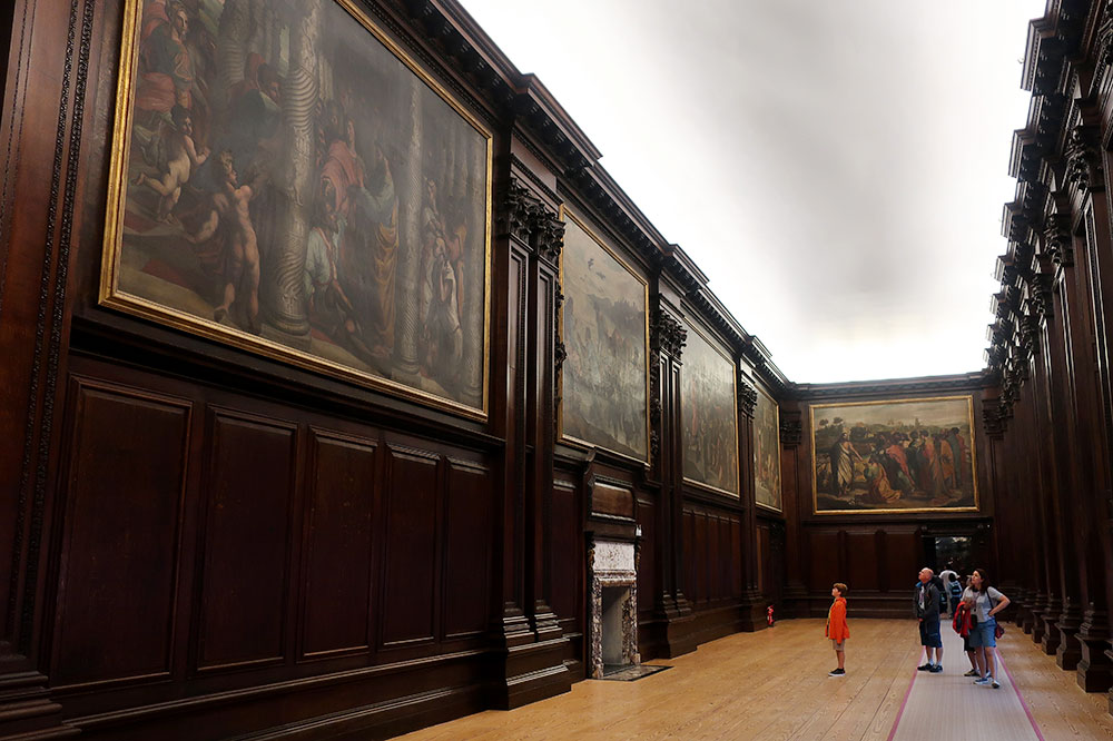 The Cumberland Art Gallery at Hampton Court Palace