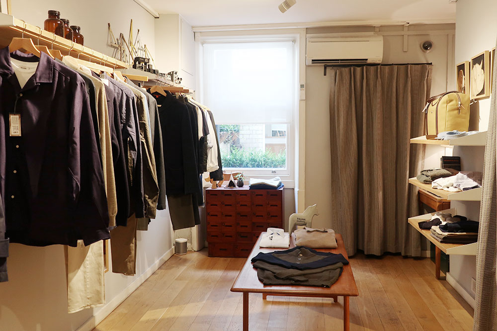 Clothing from Trunk on Chiltern Street