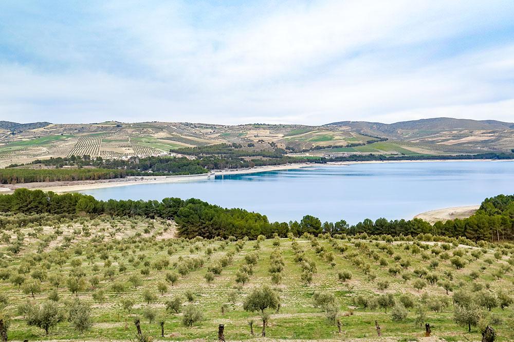 Los Bermejales Reservoir