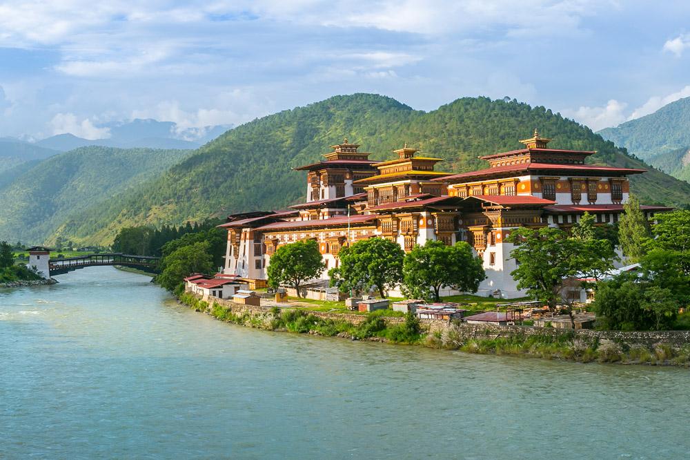 Punakha Dzong Monastery, Punakha, Bhutan