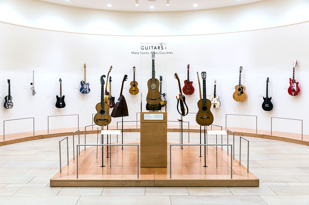 <em>Evolution of the Guitar</em> at the Musical Instrument Museum in Phoenix