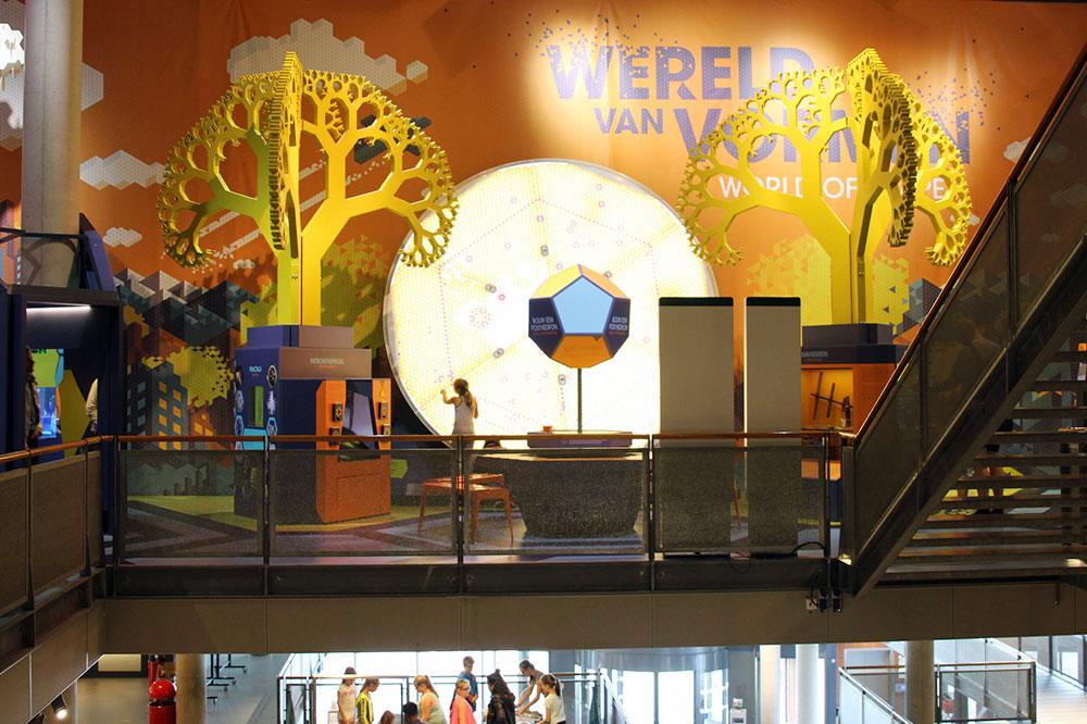 NEMO museum exhibit