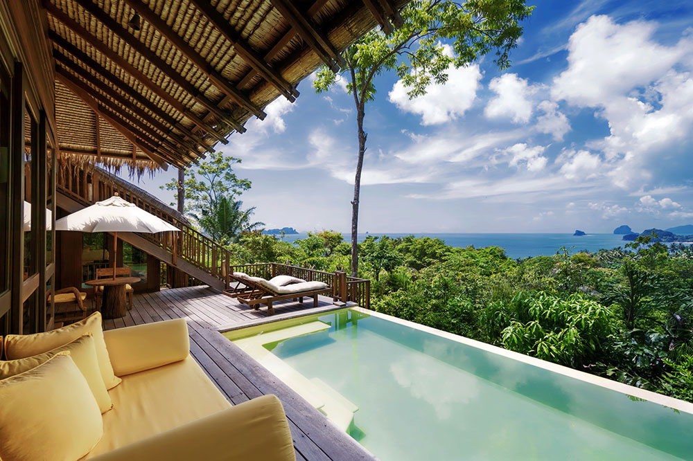 Ocean Deluxe Pool Villa at Six Senses Yao Noi