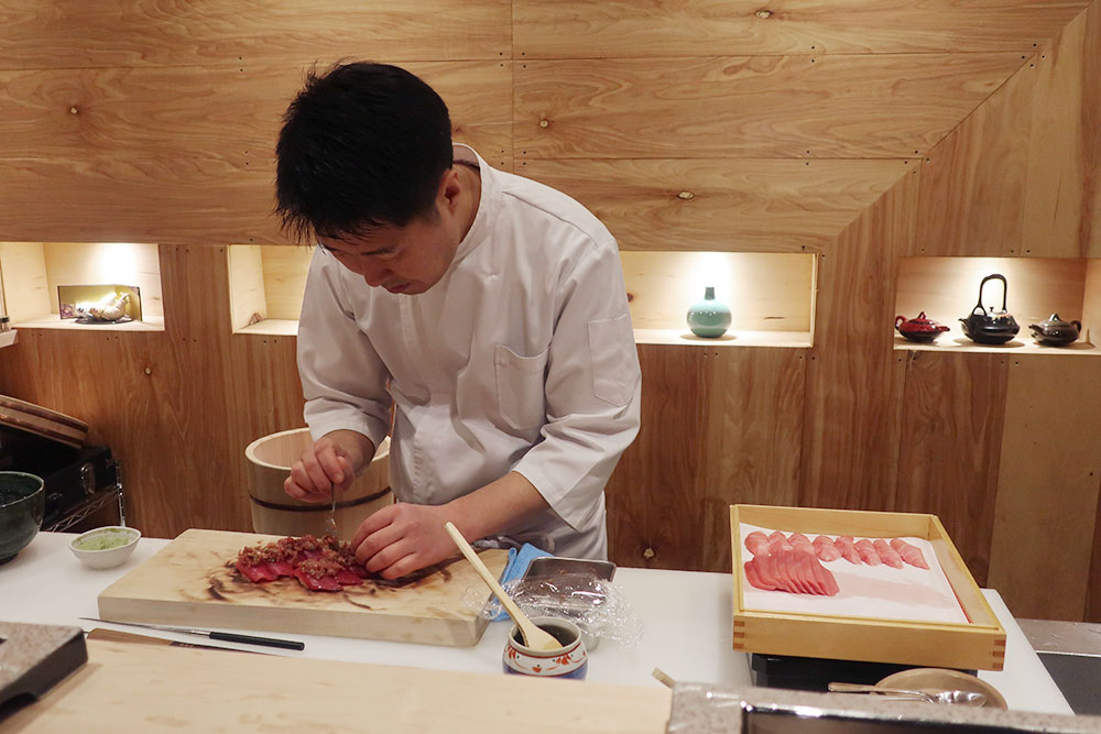Chef Sangtae Park from Omakase Yume