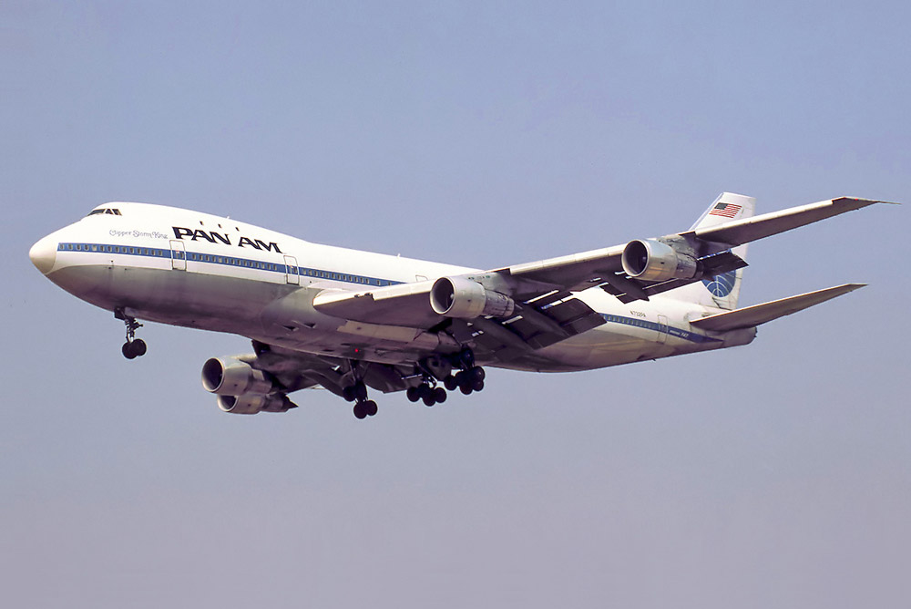 A Pan Am 747 in 1978