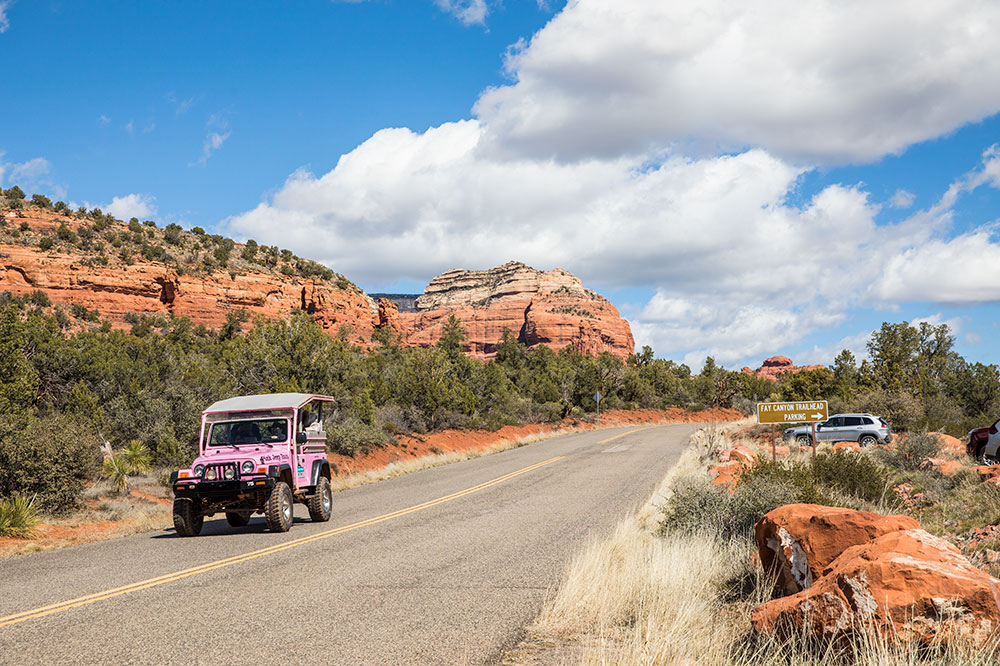 Scenes from a Jeep tour in Fay Canyon near Sedona