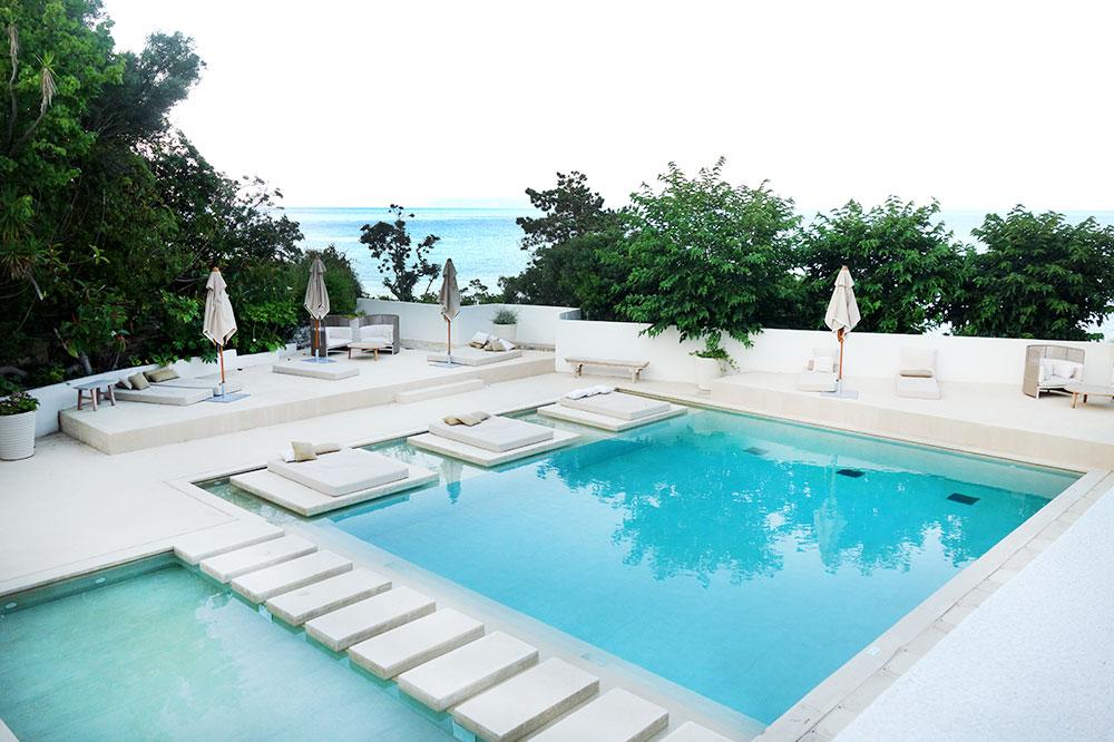 The pool at Misincu