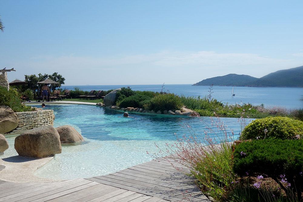 The pool at U Capu Biancu