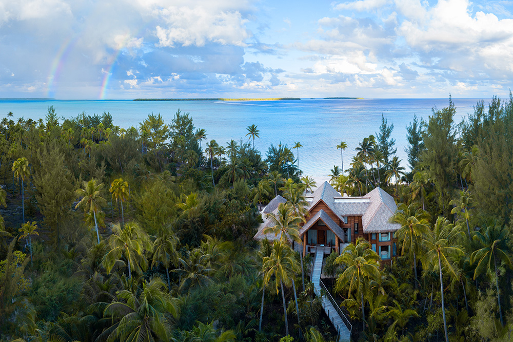 The Residence at The Brando on the private island of Tetiaroa, French Polynesia