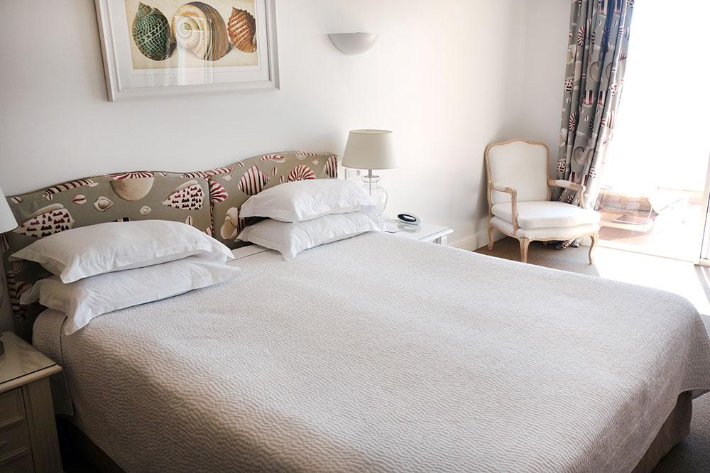 Our room at Hôtel Les Mouettes