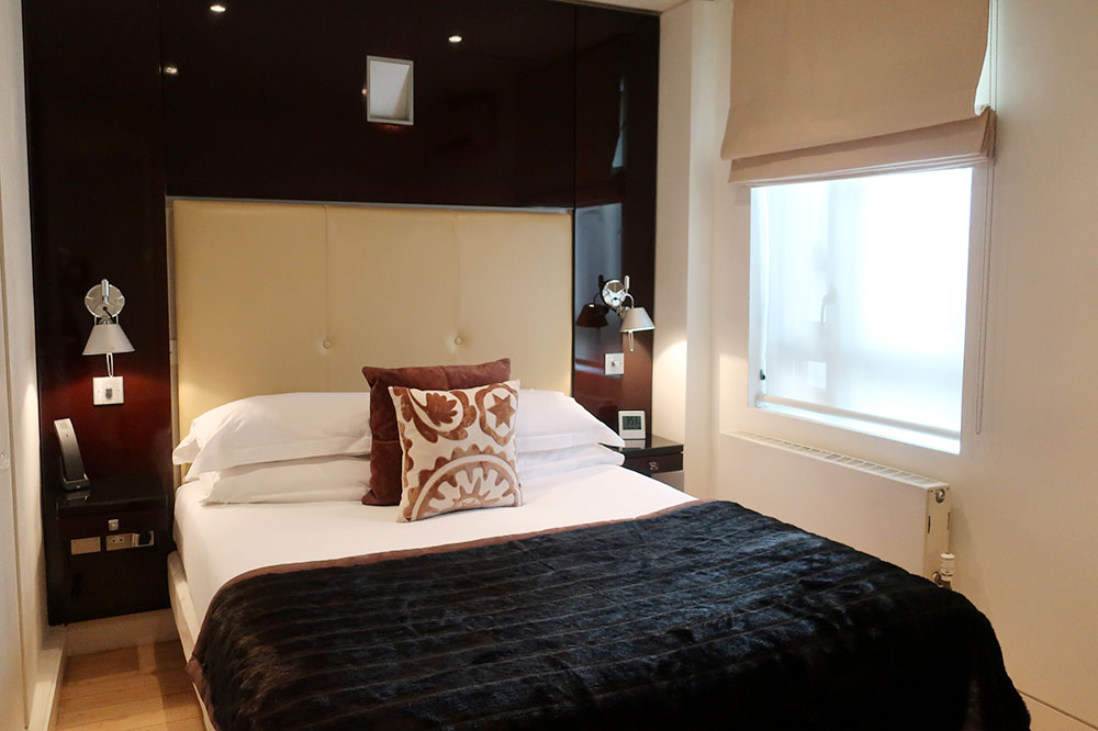 Our One-Bed Superior Suite at No. 5 Maddox St.