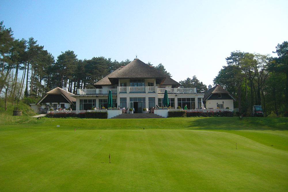 The clubhouse at Royal Hague