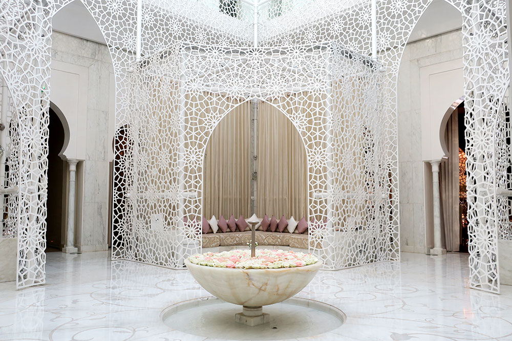 The spa at Royal Mansour in Marrakech, Morocco
