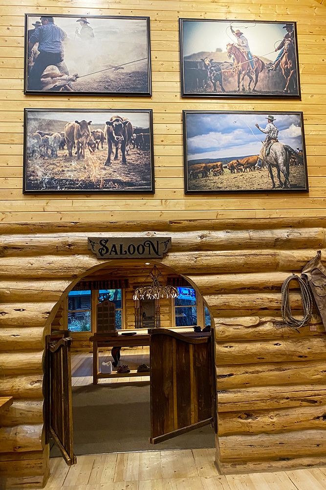 Saloon in the Lodge at Silvies Valley Ranch