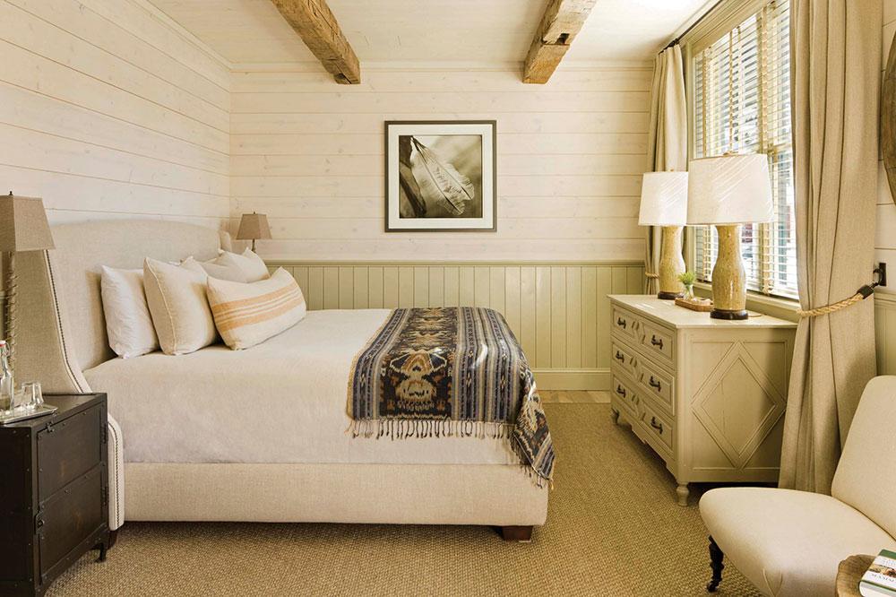 The Marcellina room at Scarp Ridge Lodge