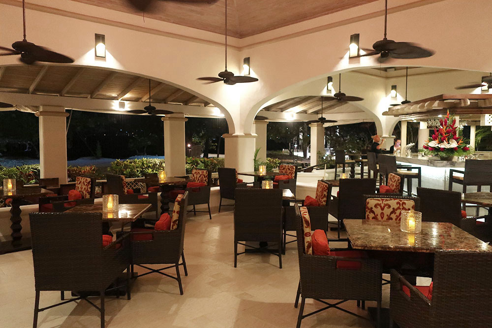 Sea and Turf Terrace & Bar at Spice Island Beach Resort