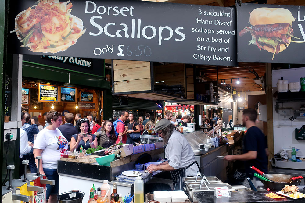 Shellseekers Fish & Game at the Borough Market
