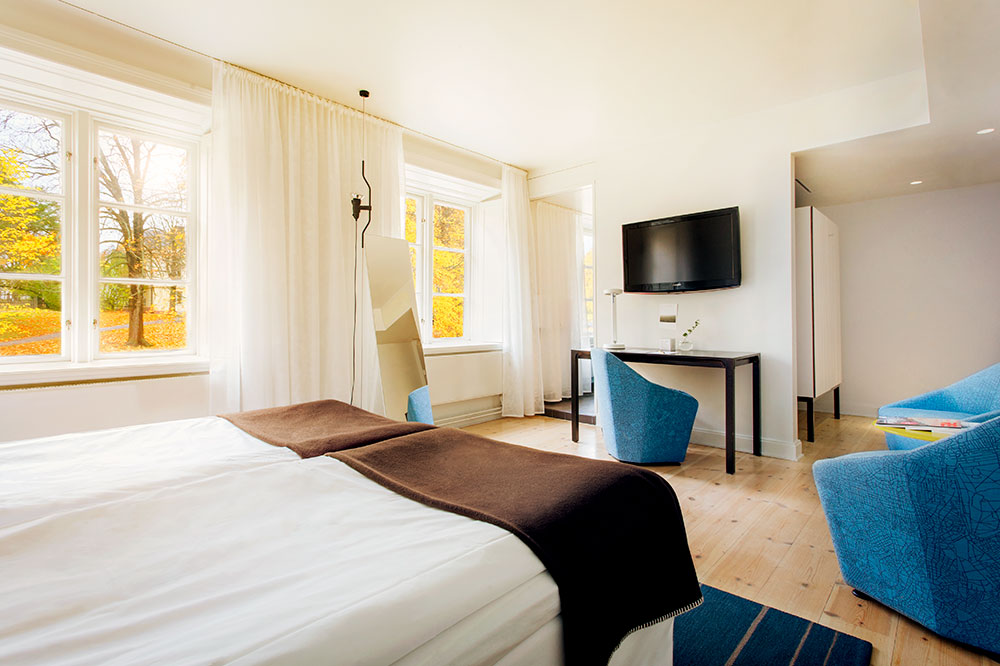 A Superior room at Hotel Skeppsholmen