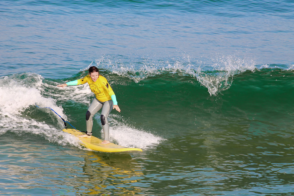 Surfing in Comporta at Carvalhal Beach