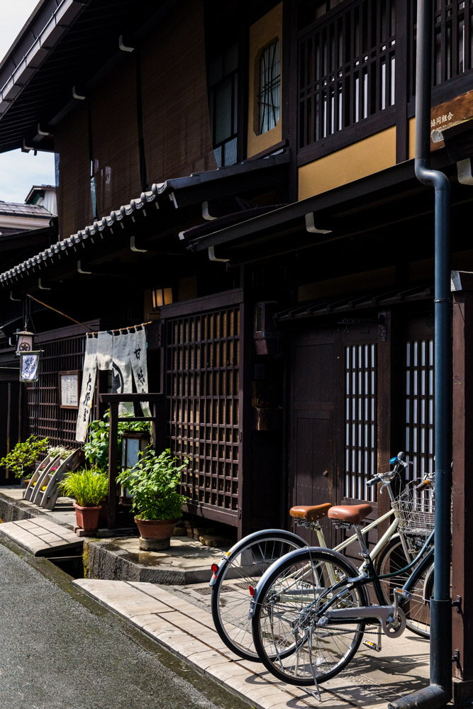 Edo period buildings in historic Takayama