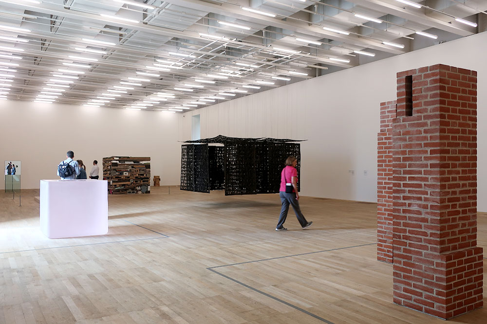 "The exhibition ""Between Object and Architecture"" at Tate Modern"