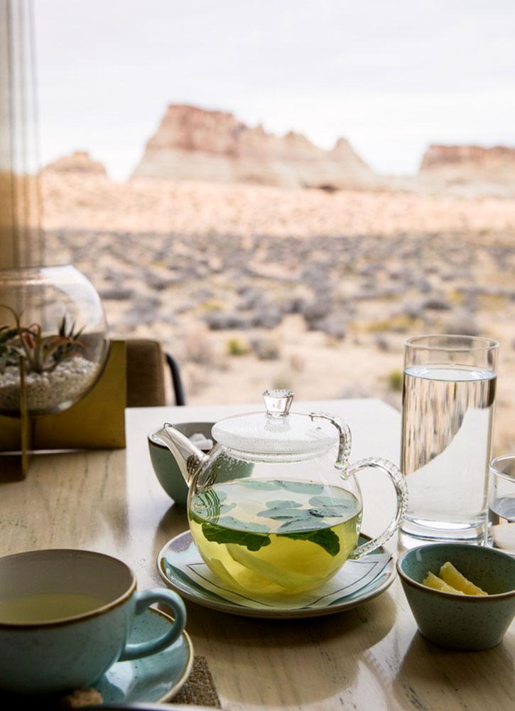 Tea at Amangiri