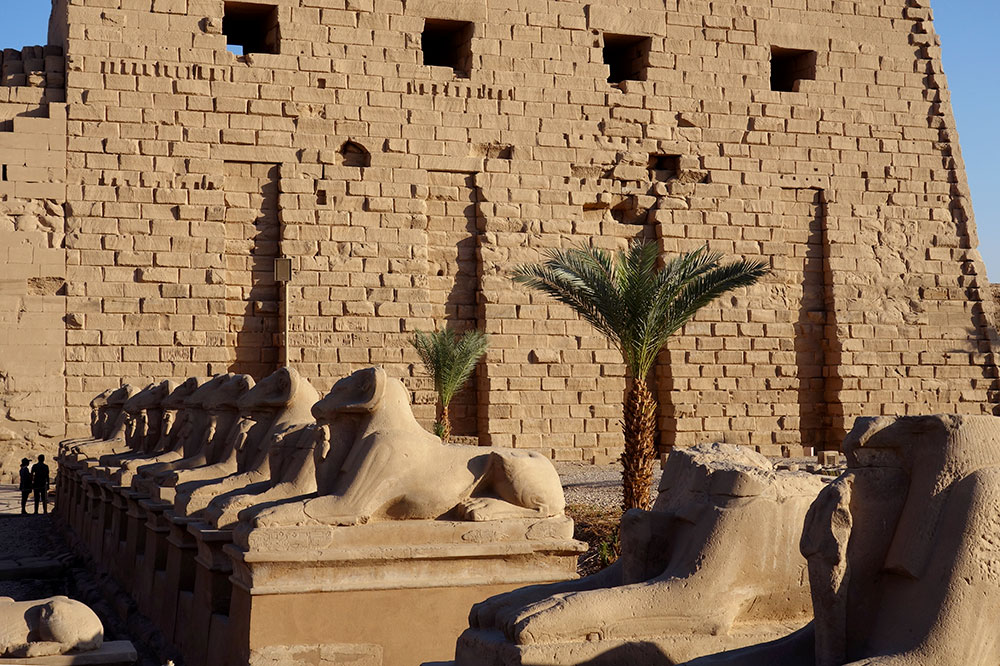The temple of Karnak