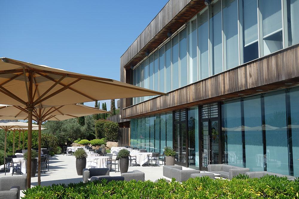 The terrace at Casadelmar