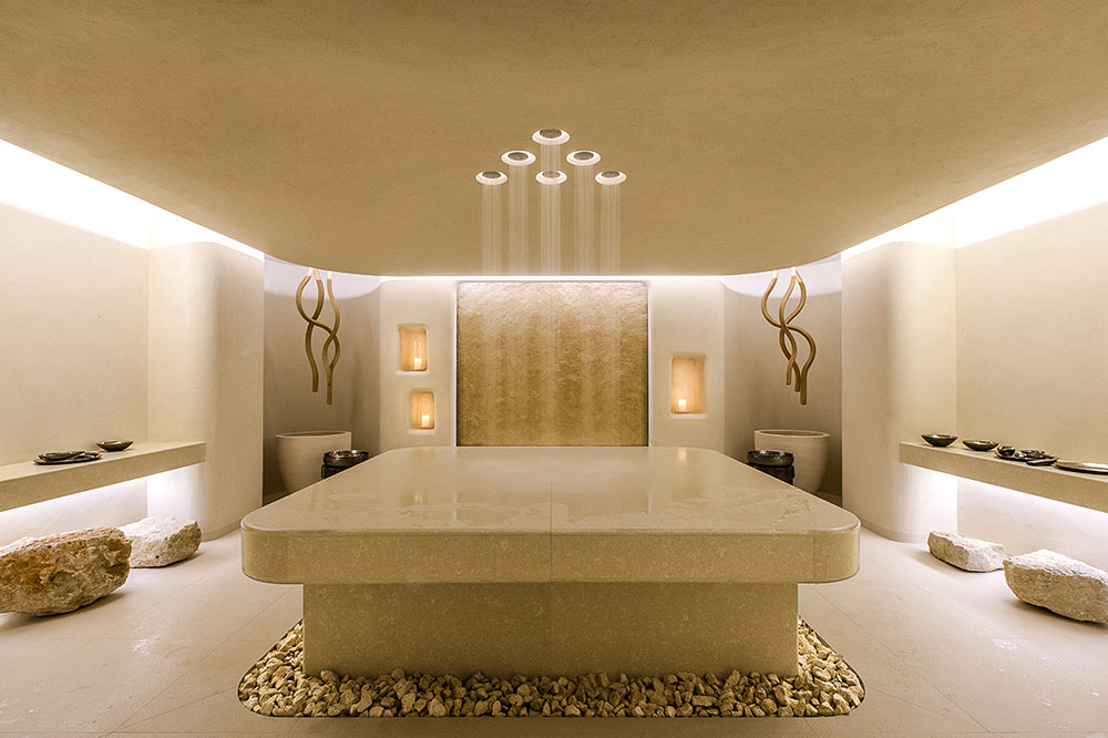 The Six Senses spa at The Alpina Gstaad in Gstaad, Switzerland