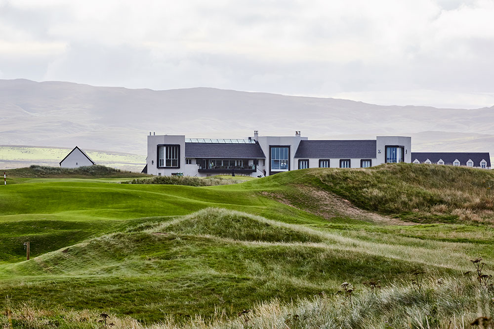 The golf course at The Machrie on the Isle of Islay, Scotland