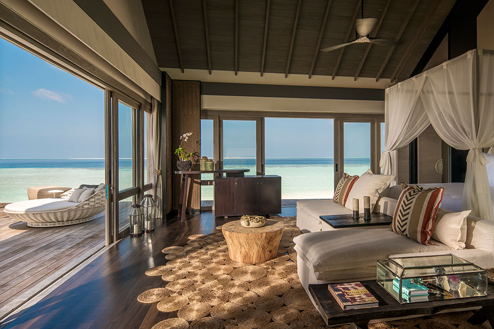 Three bedroom Beach Villa at Four Seasons Private Island at Voavah