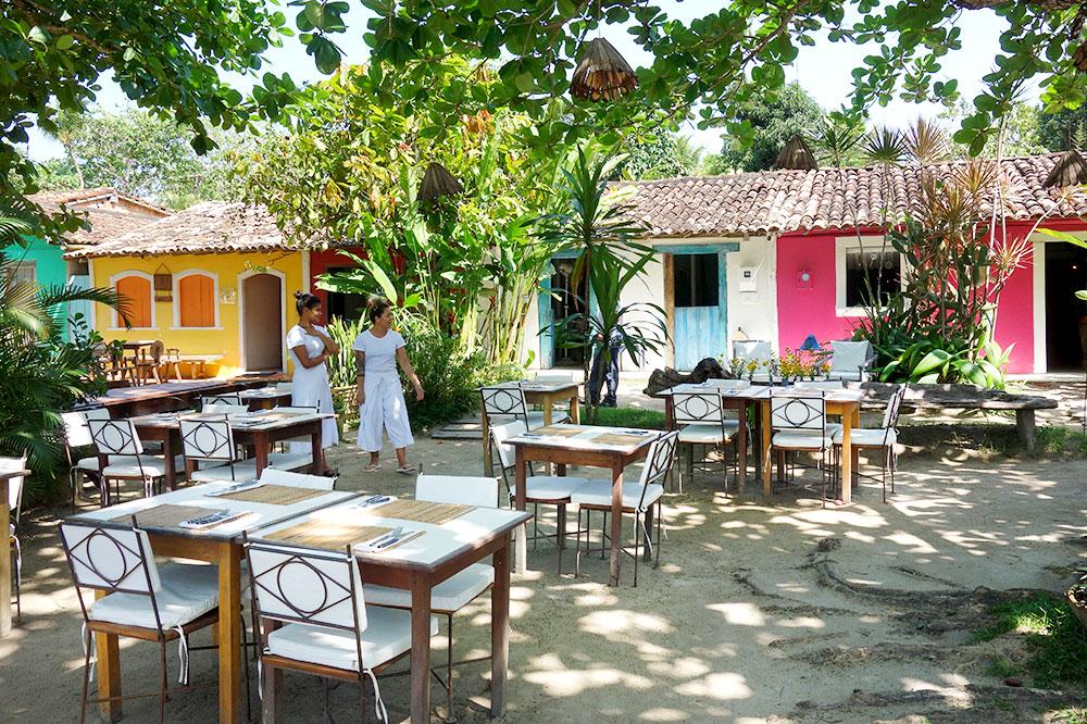 The restaurant at UXUA Casa Hotel