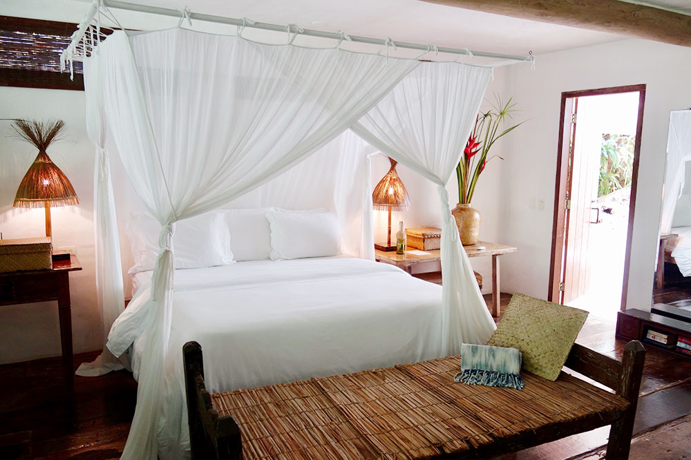 Our bedroom at UXUA Casa Hotel