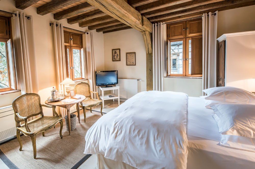 A Superior Double Room at La Maison de Rhodes