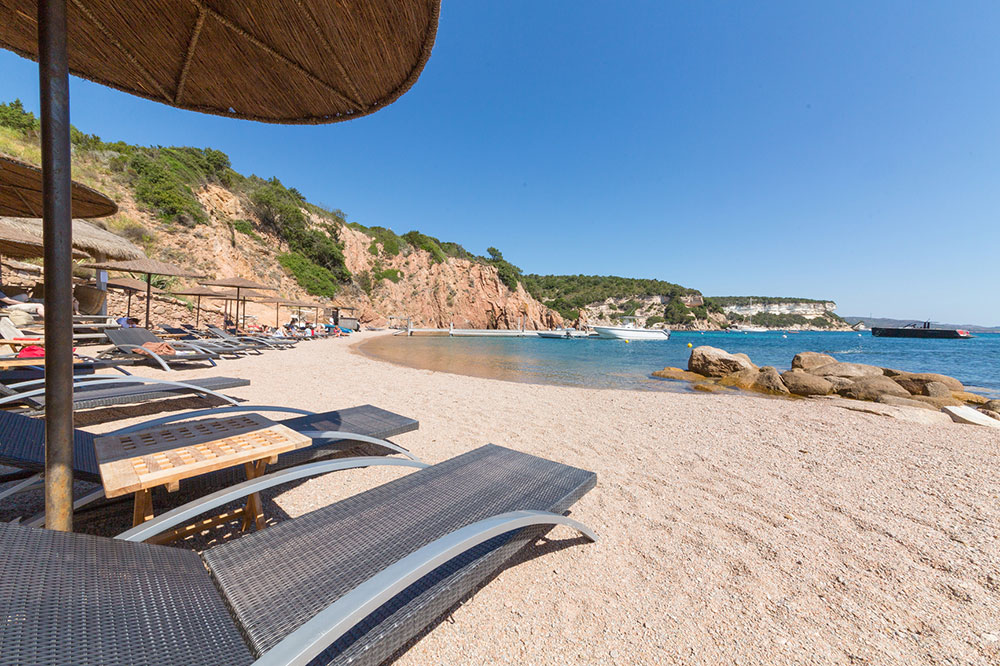 The beach at U Capu Biancu