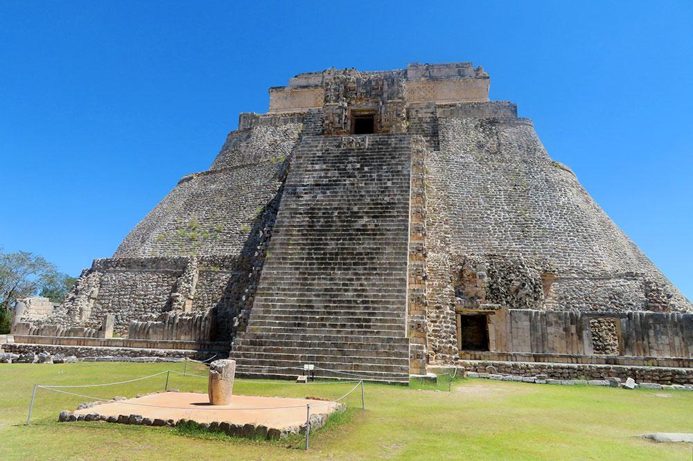 The Uxmal ruins in the Yucatán Peninsula of Mexico