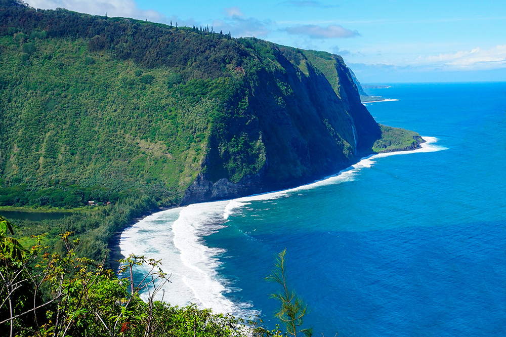 Coastline of the Big Island