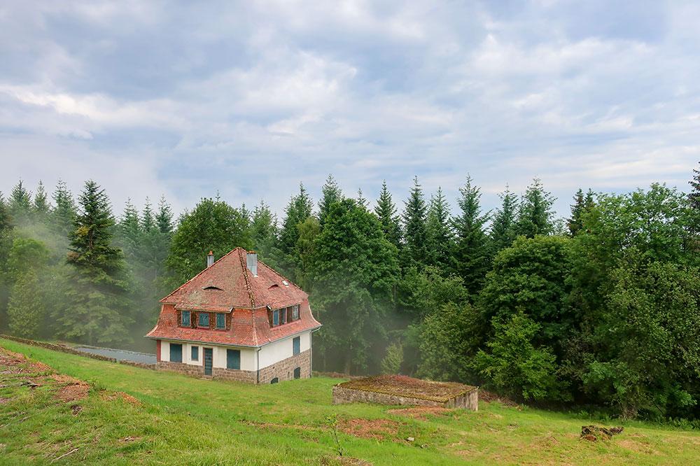 Villa of the camp's <em> Kommandantur</em> at Natzweiler-Struthof