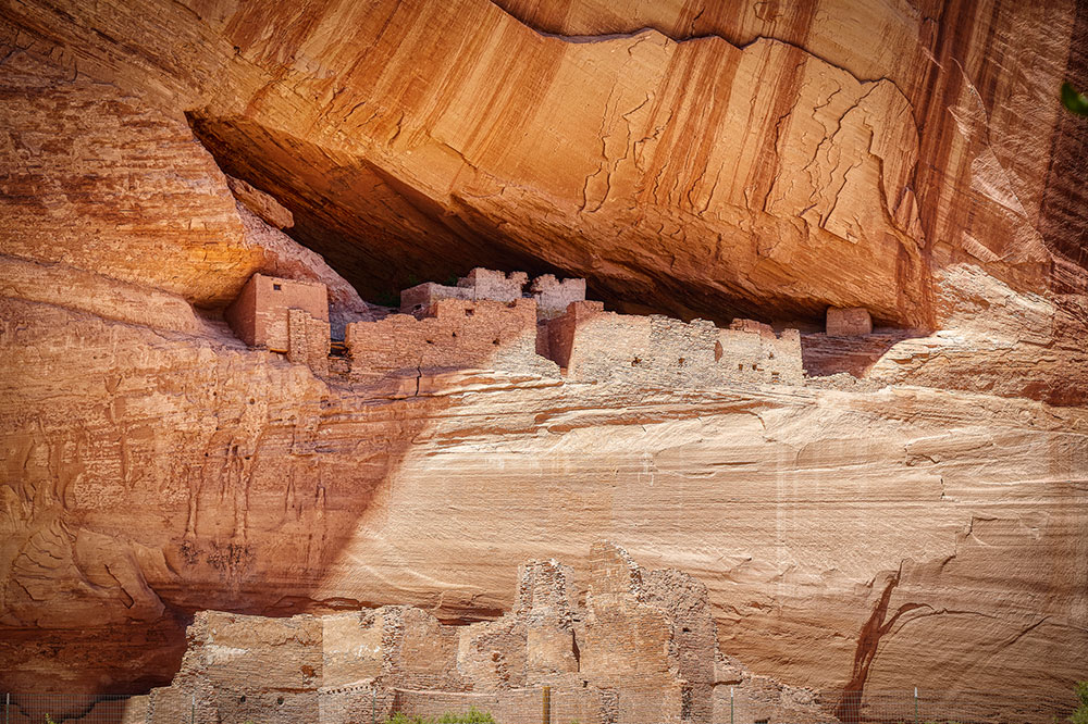 The White House ruins at Canyon de Chelly in Chinle