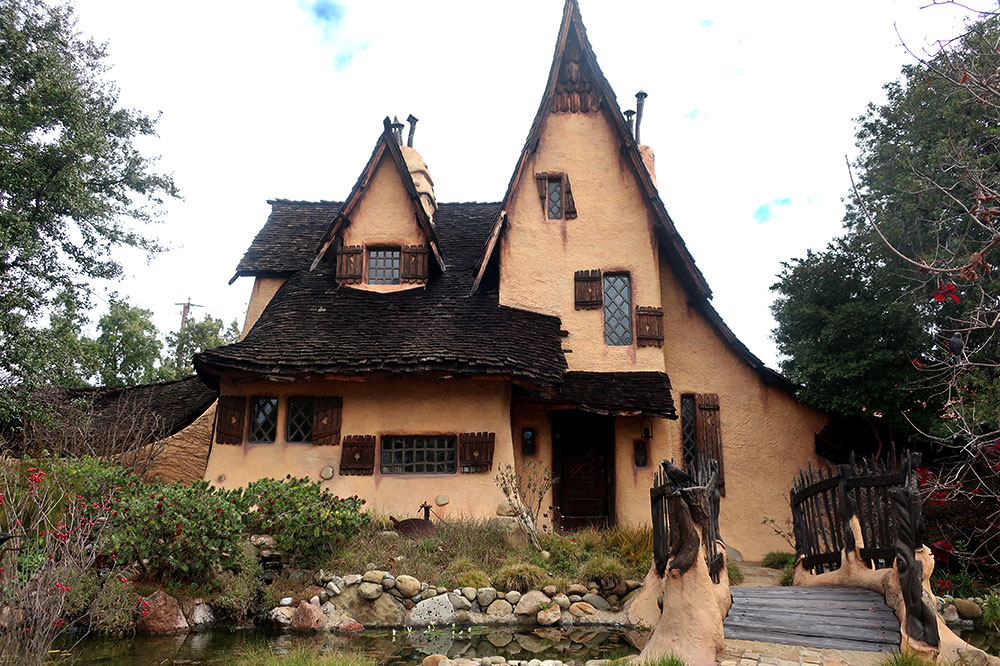 "The ""Witch's House"" in Beverly Hills"