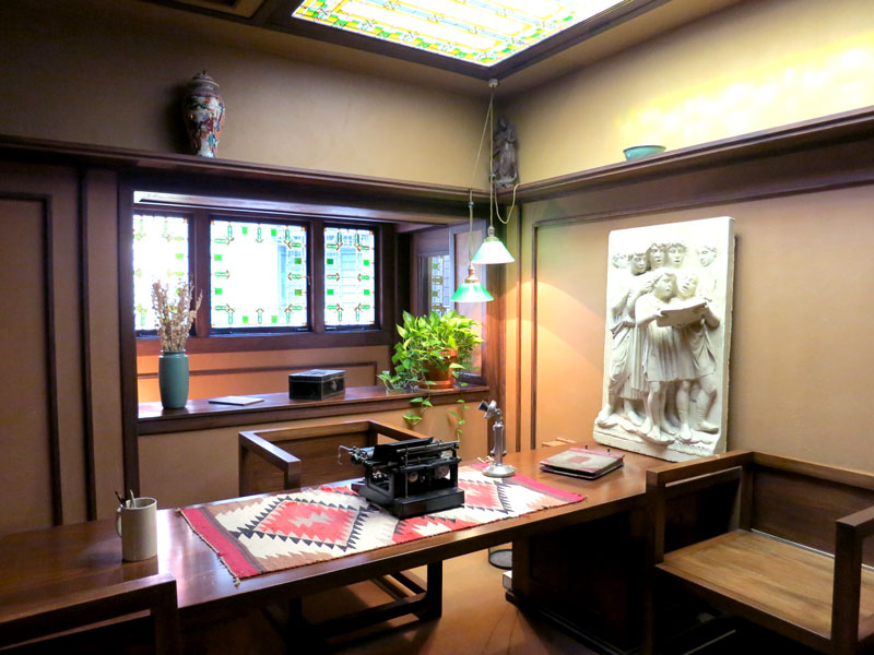 Frank Lloyd Wright Home And Studio Interior   Photo By Andrew Harper