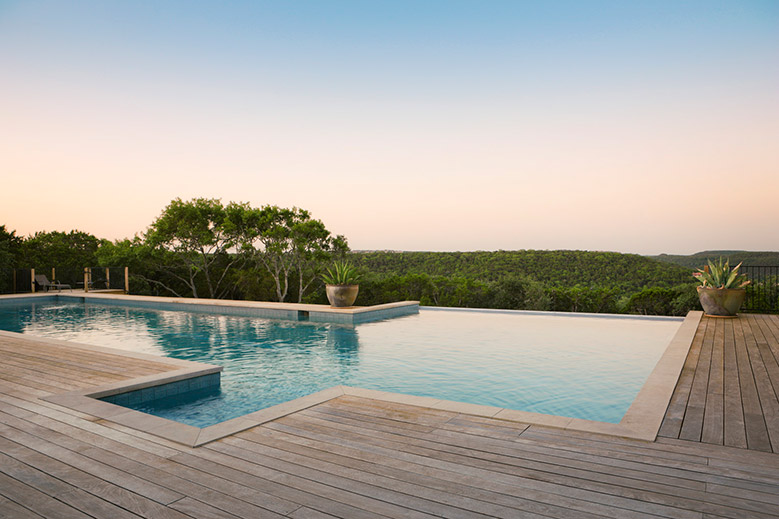 Contrasting West Texas and Hill Country Retreats