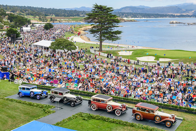 Preparations for Pebble Beach Food & Wine - © Robert Ellis Photographyk