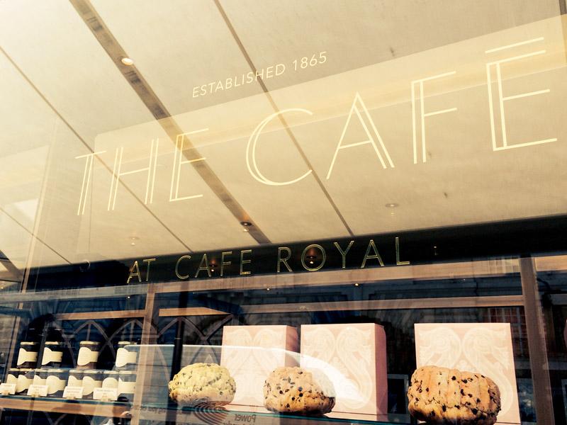 The Café at Hotel Café Royal