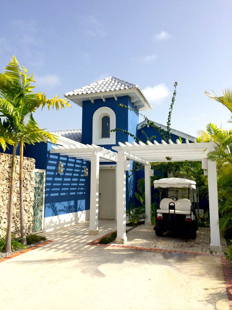 Our cottage at Eden Roc at Cap Cana