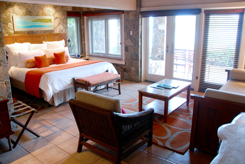 Our bedroom at Peter Island